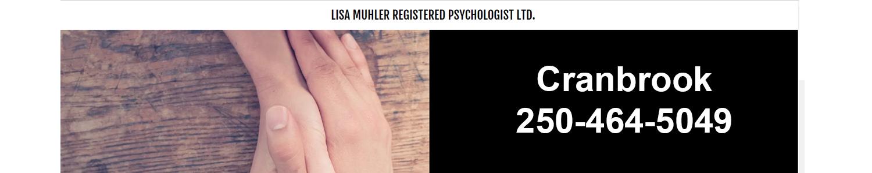 Lisa Muhler, Registered Psychologist